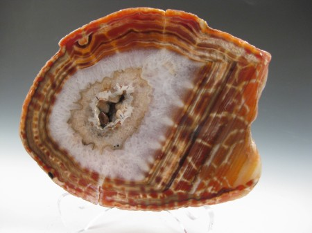 Fire Agate Slab From Tucson