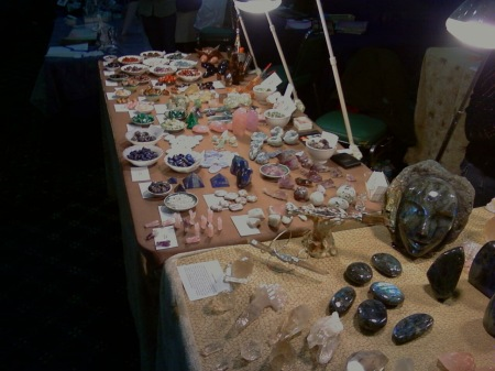 Spirit Dancer Crystal's Booth