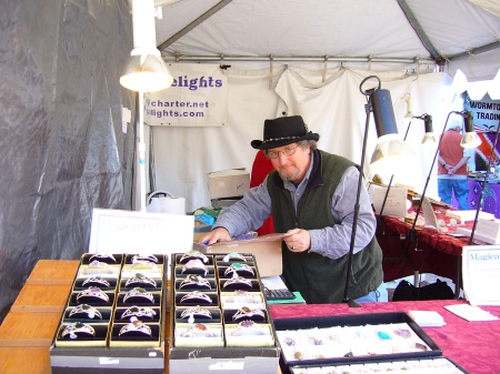 Magical Delights Booth at Gaithersburg Maryland