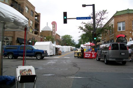 Cloudy Day at Edina Art Festival