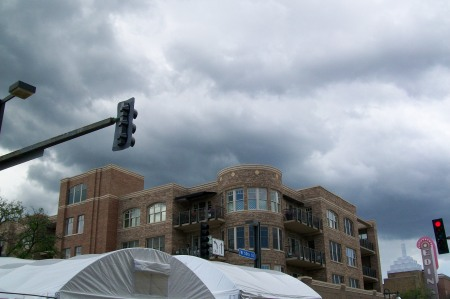 More Clouds Rolling In At Edina Art Festival