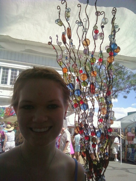 Garden Wands At The Art Festival