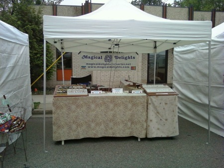 Magical Delights Art Festival Booth
