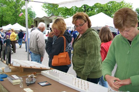 People at Rhinelander Art Festival