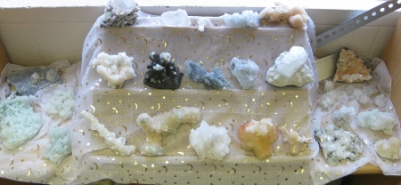 Close Up of Zeolites at Magical Delights