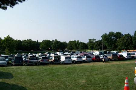 Parking Lot is Full